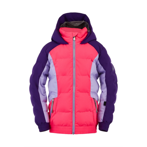 BITSY GIRLS ATLAS SKI JACKET - BUBBLEGUM MAJESTY