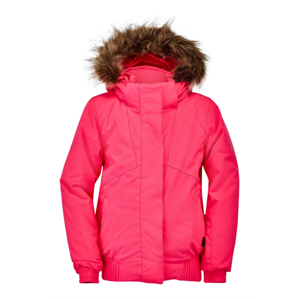 BITSY GIRLS LOLA SKI JACKET - BRYTE BUBBLEGUM