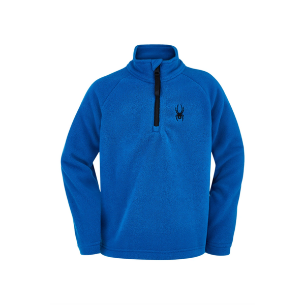 MINI BOYS SECOND LAYER SKI SPEED FLEECE T-NECK - OLD GLORY