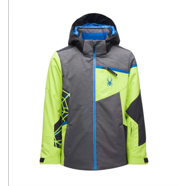 JUNIOR BOYS CHALLENGER SKI JACKET - LINEAR EMBOSS