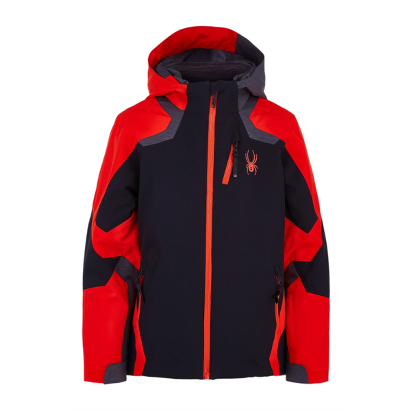 JUNIOR BOYS LEADER SKI JACKET - BLACK