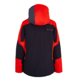 SPYDER JUNIOR BOYS LEADER SKI JACKET - BLACK