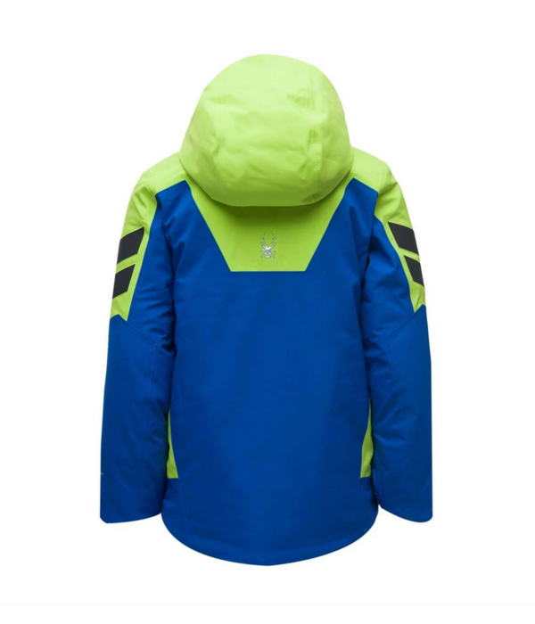 SPYDER JUNIOR BOYS MONTEROSA GTX SKI JACKET - OLD GLORY