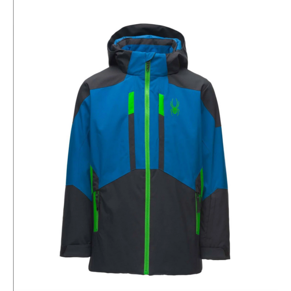 JUNIOR BOYS BRINK SKI JACKET - BLACK