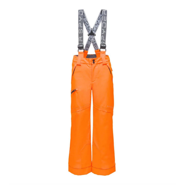 JUNIOR BOYS PROPULSION SKI PANT - BRYTE ORANGE