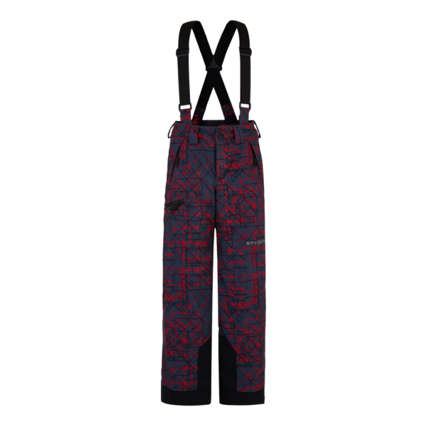 JUNIOR BOYS PROPULSION SKI PANT - NETWORK PRINT