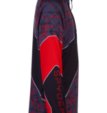 SPYDER JUNIOR BOYS SECOND LAYER DIVIDE SKI TOP - NETWORK PRINT
