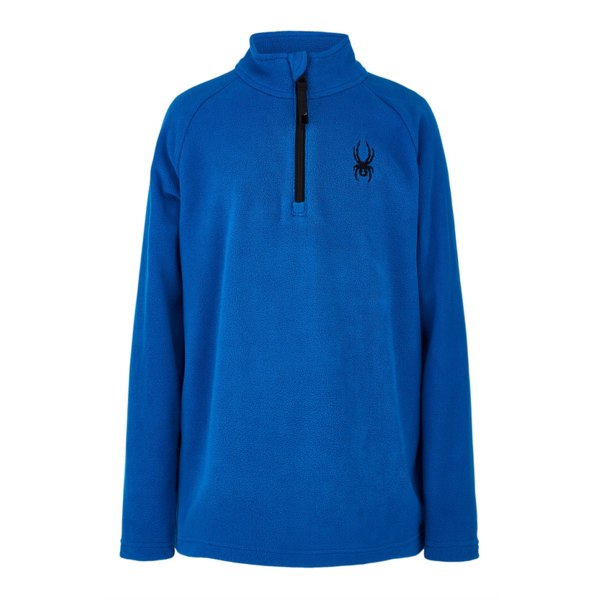 JUNIOR BOYS SECOND LAYER SKI SPEED FLEECE T-NECK - OLD GLORY
