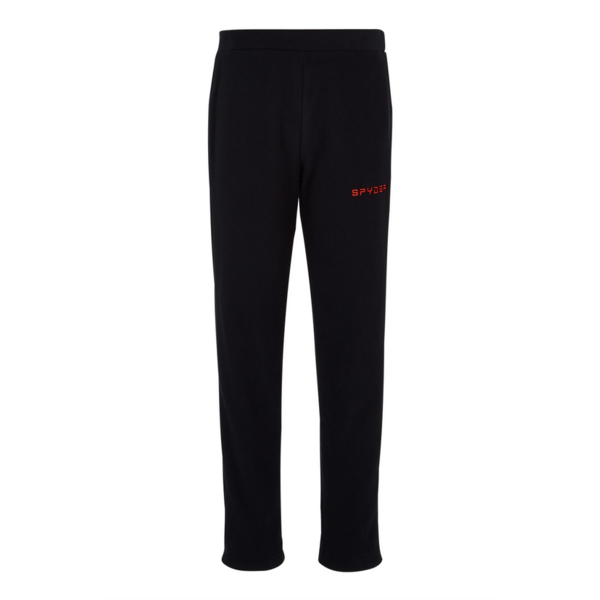 JUNIOR BOYS SECOND LAYER SKI SPEED FLEECE PANT - BLACK