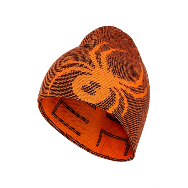 JUNIOR BOYS REVERSIBLE BUG HAT - BRYTE ORANGE