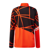 SPYDER JUNIOR BOYS LIMITLESS HIDEOUT T-NECK SK I TOP - VOLCANO - SIZE SMALL/8 ONLY