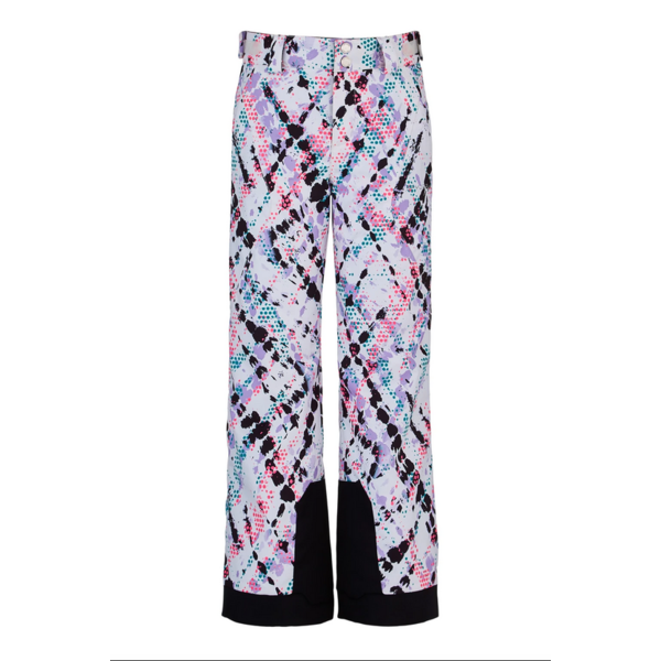 JUNIOR GIRLS OLYMPIA SKI PANT - IMPRESS PRINT