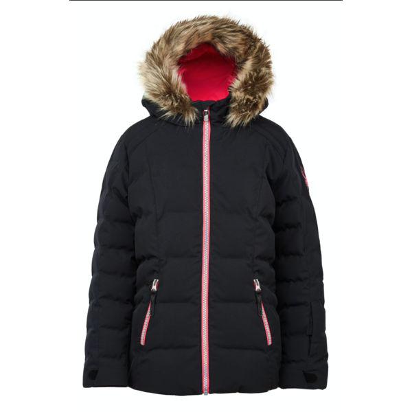 JUNIOR GIRLS ATLAS JACKET - BLACK - SIZE 20 0NLY