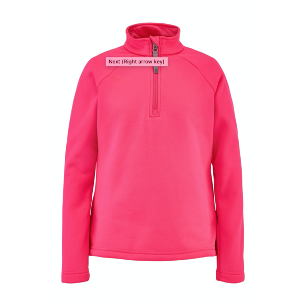 JUNIOR GIRLS SAVONA T-NECK - BRYTE BUBBLEGUM