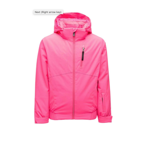 JUNIOR GIRLS LOLA SKI JACKET - BRYTE BUBBLEGUM