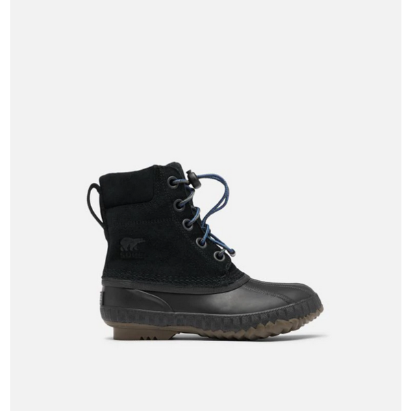 YOUTH CHEYANNE LACE II BOOT - BLACK - SIZE 1Y ONLY