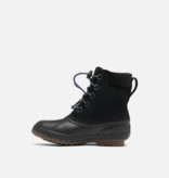 SOREL YOUTH CHEYANNE LACE II BOOT - BLACK - SIZE 1Y ONLY