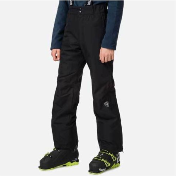JUNIOR FULL ZIP SKI PANT - BLACK