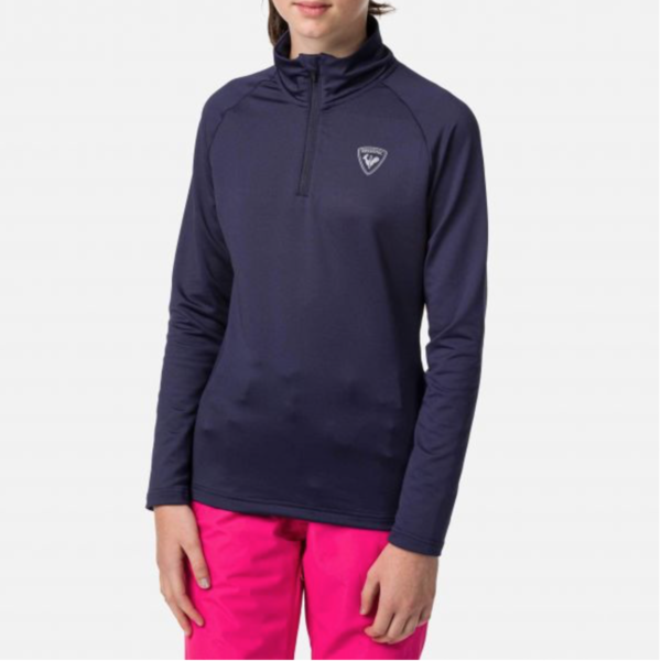 JUNIOR UNISEX 1/2 ZIP WARM STRETCH - NOCTURNE