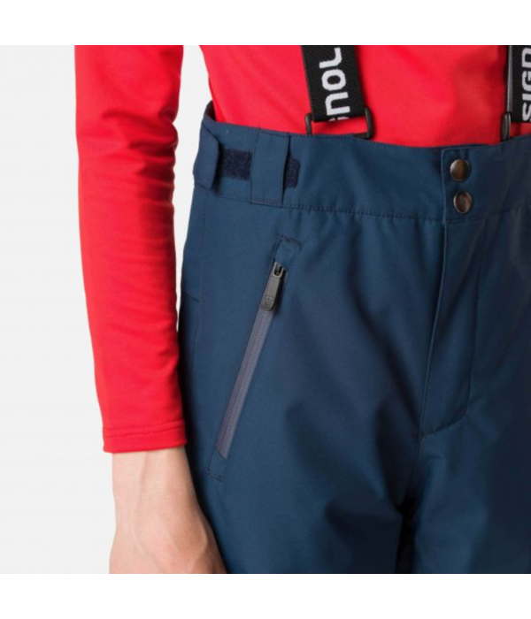ROSSIGNOL JUNIOR BOYS HIVER SKI PANT - NAVY - SIZE 14 ONLY