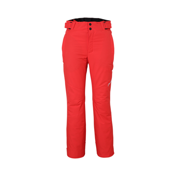 JUNIOR BOYS LEO JR SALOPETTE SKI PANT - RED