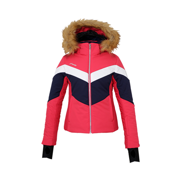 JUNIOR GIRLS TAURUS JR SKI JACKET - MAGENTA