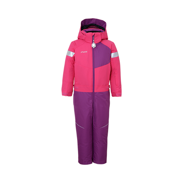 PRESCHOOL GIRLS TREASURE 1PC SNOWSUIT - PINK