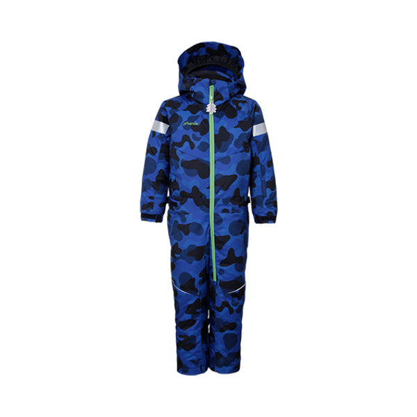 PRESCHOOL BOYS TREASURE 1PC SNOWSUIT - BLUE CAMO