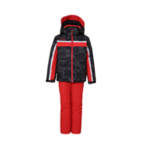 PHENIX BOYS LIBRA 2PC SNOWSUIT - CAMO/RED/BLACK