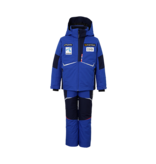 PHENIX BOYS NORWAY TEAM SUKU SNOWSUIT - BLUE WITH PATCHES
