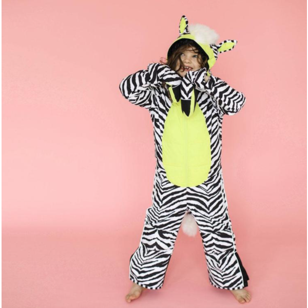 ZEBRA WINTER JUMPSUIT