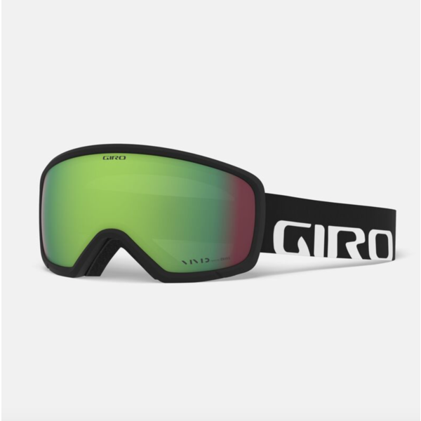 RINGO JR GOGGLE - BLACK WOODMARK WITH EMERALD LENS