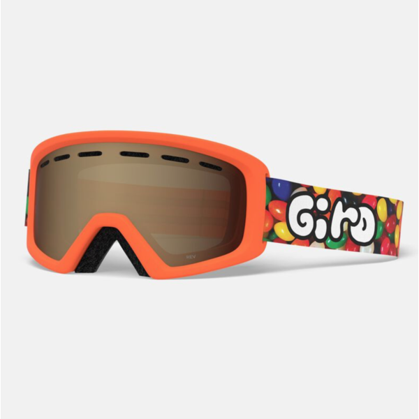 REV GOGGLES - JELLY ORANGE WITH AR40 LENS