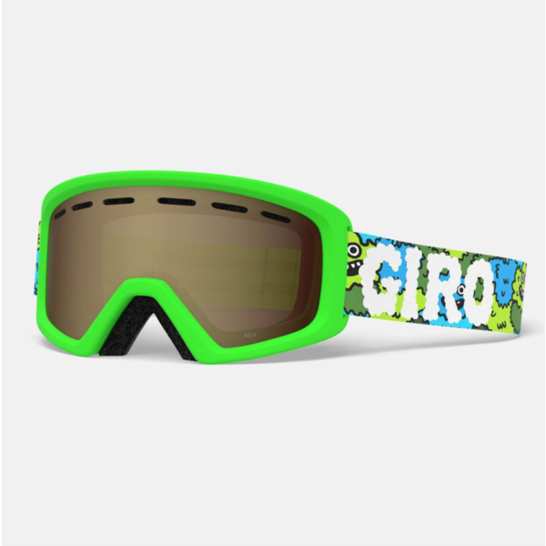 REV GOGGLES - LILNUGS GREEN WITH AR40 LENS