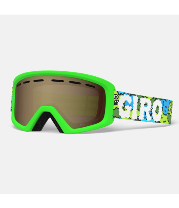 GIRO REV GOGGLES - LILNUGS GREEN WITH AR40 LENS