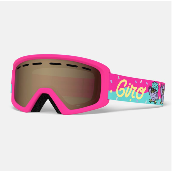 REV GOGGLES - DISCO BIRDS PINK WITH AR40 LENS