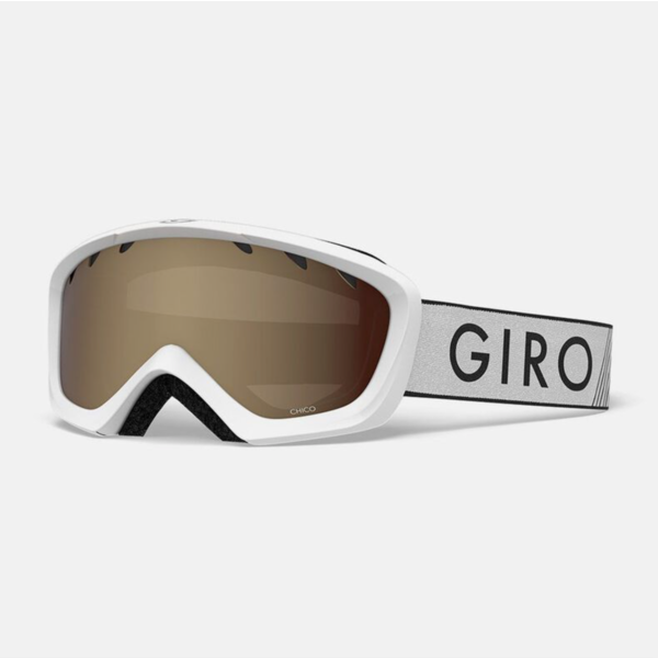 CHICO GOGGLES - WHITE ZOOM WITH AR40 LENS
