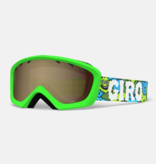 GIRO CHICO GOGGLES - LILNUGS GREEN/AMBER ROSE