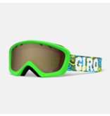 GIRO CHICO GOGGLES - LILNUGS GREEN WITH AR40 LENS