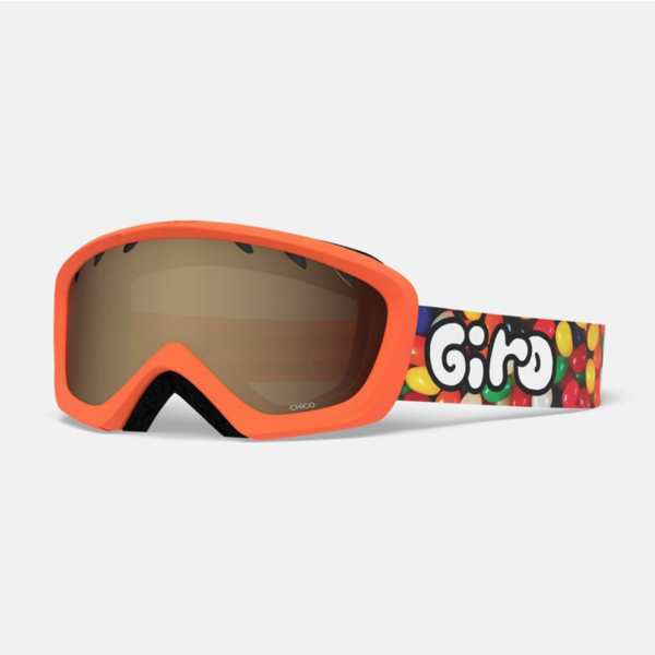 CHICO GOGGLES - JELLY ORANGE WITH AR40 LENS