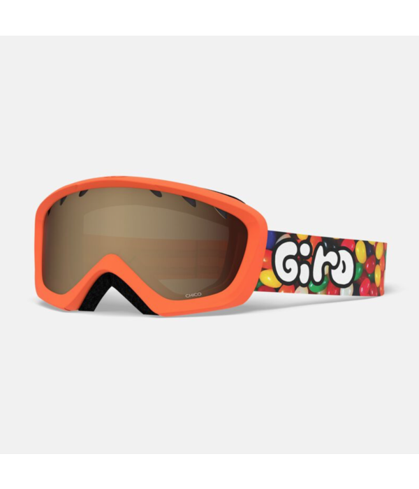 GIRO CHICO GOGGLES - JELLY ORANGE WITH AR40 LENS