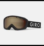 GIRO CHICO GOGGLE - BLACK ZOOM/AMBER ROSE