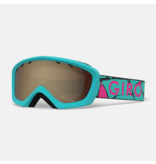 GIRO CHICO GOGGLE - GLACIER ROCK WITH AMBER LENS