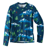 HOT CHILLYS YOUTH ORIGINAL II PRINT CREWNECK - FREESTYLE NAVY