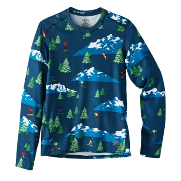 YOUTH ORIGINAL II PRINT CREWNECK - FREESTYLE NAVY - SIZE XSMALL 4/6 ONLY
