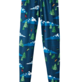 HOT CHILLYS YOUTH ORIGINAL II PRINT TIGHTS - FREESTYLE NAVY