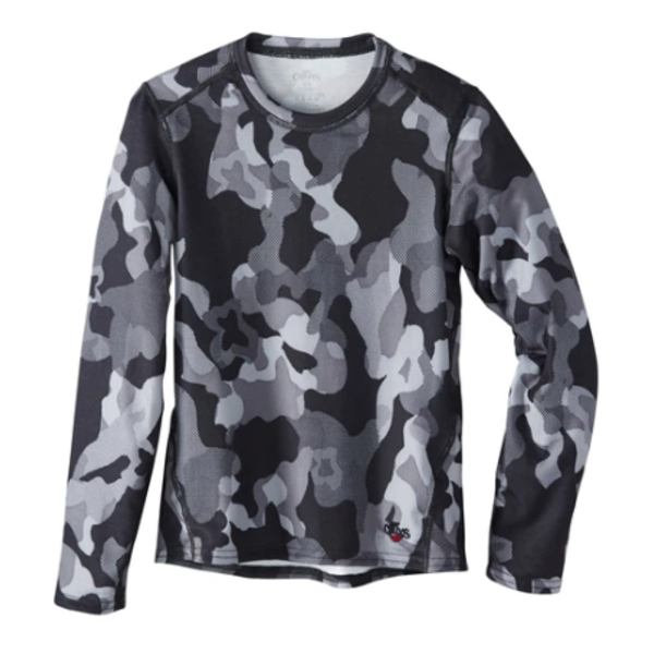 YOUTH ORIGINAL II PRINT CREWNECK - TEXTURED CAMO - SIZE SMALL 6/8 ONLY