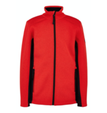 SPYDER JUNIOR BOYS ENCORE FLEECE JACKET - VOLCANO - SIZE XLARGE/18 ONLY