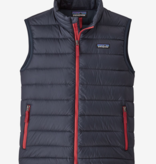 PATAGONIA JUNIOR BOYS DOWN SWEATER VEST - NEW NAVY - SIZE MEDIUM 10 ONLY