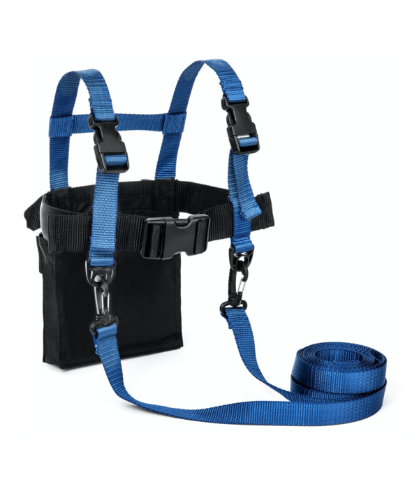 LUCKY BUMS DELUXE SKI TRAINER - BLUE